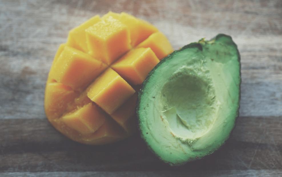 Aguacate y mango